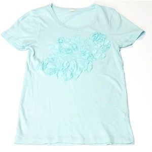 J. Crew Teal Blue T-Shirt